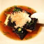 祇園はじめ - 茄子と豆腐の揚げだし!780円