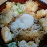 丸京 - いか天おりし(冷)700円