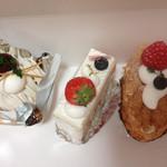 洋菓子 Julian - モンブラン、苺ケーキ、ミルフィーユ
