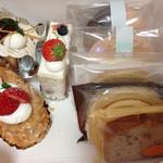 洋菓子 Julian - ミルフィーユ、苺ケーキ、モンブラン他