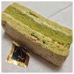 お菓子工房 うふふ - 抹茶風味の羽織りショコラ(≧∇≦)