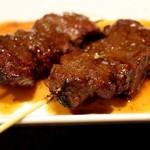 達磨や - 料理写真:じっくり焼く「牛さがり」
