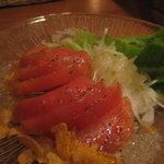 イタリア食堂 ガティーノ - トマトサラダ600円