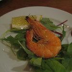 イタリア食堂 ガティーノ - 天使の海老の塩焼き350円