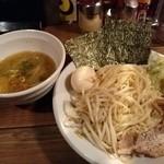 25990830 - 野菜つけ麺・三軒屋(全部載せ・麺2玉)