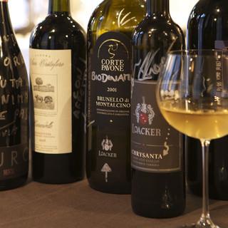 ワイン生産者も多く訪れます。