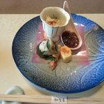 Kagaya - ミニ懐石あえの風前菜