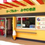 筑波山ケーブルカー 宮脇駅売店 - 外観