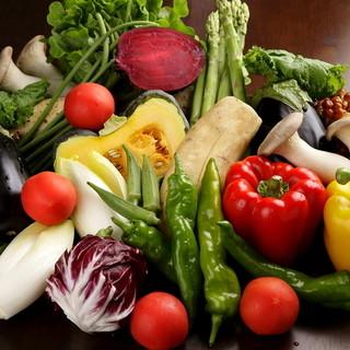 漁港直送鮮魚と産地直送野菜が、売りだから、とにかく食材が新鮮