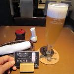 まつ屋 - 生ビール「白穂乃香」