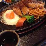 レストラン松新 - とんかつ定食