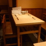 陽のまえ - ☆テーブル席はこんな感じです☆