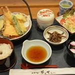 旬菜和食 夢咲屋 - 天ぷら定食