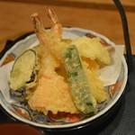 旬菜和食 夢咲屋 - 天ぷら盛合せ