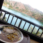 のんきや - 奥多摩湖を眺めながら食せる!
