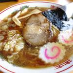 のんきや - 手打ち中華そば(醤油)700円
