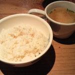 ファイヤーママ - 麦ごはん&スープ