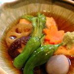 こたま - ゴマ豆腐の揚げ出汁豆腐