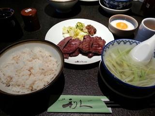 牛たん炭焼 利久 西口本店 - 牛たん定食(ランチ)