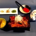 遊沙亭 - 料理写真:金目重〆の出汁茶漬け