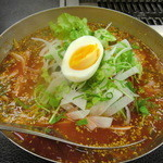 やきやき亭 - 激辛冷麺 900円