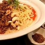 175°DENO〜担担麺〜 - 汁無し担担麺と山椒三種盛り