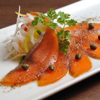 網走からの新鮮な魚介料理の数々!