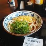 丸亀製麺 - 冷たい、ぶっかけうどん280円