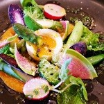 テオドーラ - 季節野菜冷製ルイユとパルメザンチーズ風味