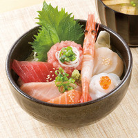 まぐろ市場 - TV朝日系列情報番組『お願いランキング』第一回どんぶり総選挙 第5位 海七丼