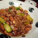 墨花居 - 鶏肉とカシューナッツ炒め