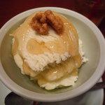 墨花居 - ブルーチーズのアイス。絶品です☆