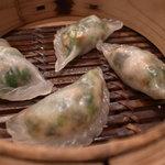 中国料理 南園 - ニラ餃子