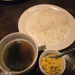 WISH BONE - ライス スープ サラダ