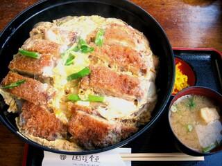 国境食堂 - カツ丼 (大) (980円)