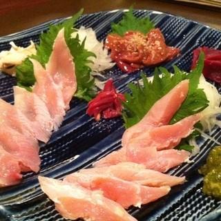在来種純系の地鶏刺身!関西では当店でしか食べる事が出来ません