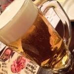 26011591 - ビールはちょっとぬるかった!