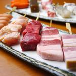 もんど - 料理写真:お肉・お野菜・海鮮などお好きな物を好きなだけ♪