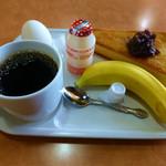 眞茶華 - 料理写真:コーヒーとモーニングサービス