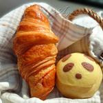 ふわり - クロワッサンとメロンパンダ