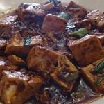 芙蓉菜館 - ランチ麻婆豆腐
