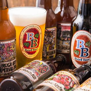 """日本を代表するクラフトビール""""ベアードビール""""が飲める店"""
