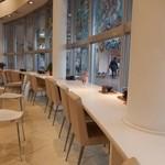 クリームランドカフェ - カウンター席