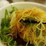 香家 - (2014/3月)「麻辣(マーラー)汁なし担々麺」を混ぜ混ぜ中