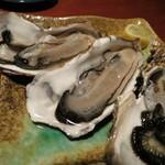 土風炉 - 生牡蠣