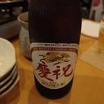 じろう桜 - 飲み放題のビールは瓶ビールです