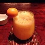 Bar 甑 - H26.4 デコポンと金柑のフレッシュカクテル