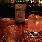 Bar 甑 - H26.4 つまみに合わせてラフロイグ10年ロック