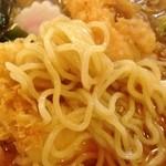 志天 - 天ぷららーめん麺拡大