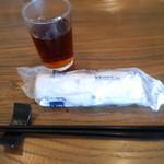26022904 - お茶とおしぼり(2014.3月)
